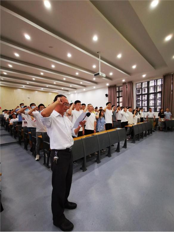 机械工程学院成功召开纪念建党99周年暨新党员...